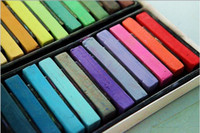 Chalk Temporary  hot European and American hair coloring pens the soft hair dye pen crayons hair stick hair color chalk 12 colors