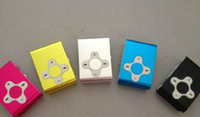 Wholesale Newest Metal Clip MP3 Player With TF MicroSD Card Slot High Quality DHL