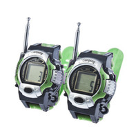Wholesale Pieces New TWO WAY RADIO WALKIE TALKIE KIDS CHILD SPY WRIST WATCH WRISTLINX GADGET TOY WALKY TALKY