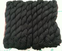 Wholesale New Nylon Cord Thread Chinese Knot Macrame Shamballa Bracelet String mm black