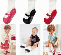 Wholesale New Baby shoes socks warmer girls leggings Children s Socks kids boys anti skidding shoes socks mix color