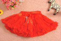 Wholesale Baby pop pettiskirts dress girl s colorful skirt girl s pettiskirt girl s skirt fluffy dress colors for choose