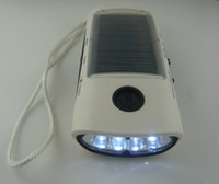 Wholesale A large number of low cost promotion with a flashlight radio function solar charger mobile power