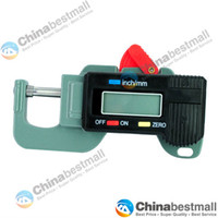 Wholesale Digital Thickness Gauge Meter Tester Micrometer to mm Width Measuring Instruments