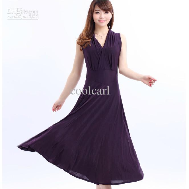 plus long dress design