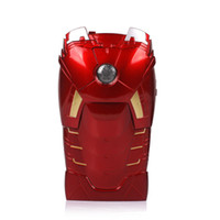 Wholesale Iron man Iphone5 matel Case Cover cool red Good quality new arrival and Screen protector free