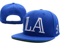 Men 1 Baseball 40 OZ NY LA Snapback Blue , mario Hat. Hip Hop Snap back Cheap Snapbacks Hats Black New Caps professional Factory