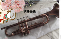 Wholesale selling ytr small brass surface green bronze in the s Bb trumpet