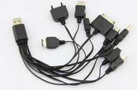 Wholesale New Multi in Universal Multi Function Cell Phone Game USB Charging Cable Charger