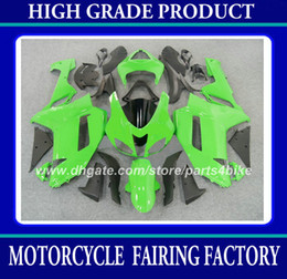 ABS Plastic fairing kit for Kawasaki Ninja ZX-6R 2007 2008 ZX 6R 2007 2008 ZX6R 07 08 fairings green black bodywork motorcycle parts RX6z
