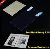 case bb - Matte Anti glare Clear Screen Guard Protector Protective Film Case For Blackberry Z10 BB With Retail Package