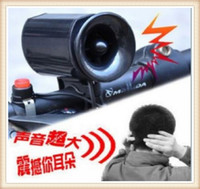 Wholesale Bike Bicycle Bell Ultra loud Electronic Horn Ring Alarm Sounds Siren Bicycle Bike Horn