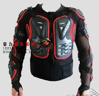 Wholesale red amp black Motorcycle Sport Bike FULL BODY ARMOR Jacket with tags ALL size third generation
