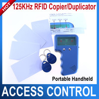 Wholesale Portable handheld KHz RFID copier duplicator writable card and keyfobs