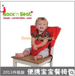 Wholesale Fedex New Arrival Baby sack n seat Baby Eat chair Seat belt kiskise Portable eat chair
