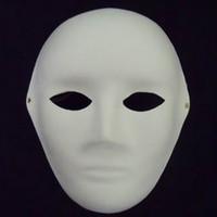 Bauta Mask april fine - Women Blank White Masks Unpainted Full Face Environmental Pulp Masks DIY Fine Art Painting Masks Net weight g Free