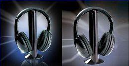 Hot Selling 5 in 1 Wireless Headphone Casque Audio 5 en1 Sans Fil Ecouteur Hi-Fi Radio FM TV MP3 MP4