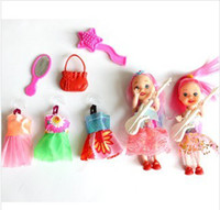 Girls barbie dolls - Barbie Girl The girl gift Play toys Two BaBiWaWa BARBIE DOLL Baby toys