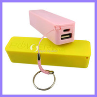 Wholesale 2600mAh universal USB External Backup Battery Power Bank for apple iPhone galaxy s3 S4 note mobile Phone