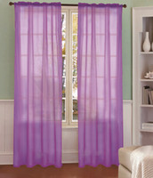 Wholesale pc europe gauze curtain fabric colorful cm cm can made curtain Home party accessories