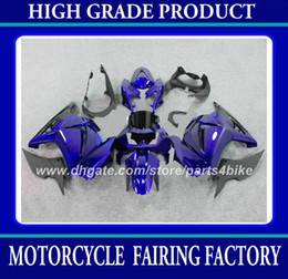 Customize racing fairing kit for Kawasaki Ninja 250R ZX250R 08 09 10 11 EX250 2008 2009 2010 2011 fairings motorcycle bodywork black blue rx