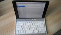 Wholesale Dropship Wireless Bluetooth keyboard slim Aluminium keyboard Bluetooth ipad mini Aluminum gold keyboard