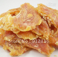 Wholesale Pet Dog Snack food Chicken breast Dried chicken Best quality Dry Chicken pruning800g