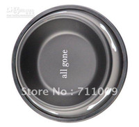 Wholesale Stainless Steel Baking Finish Round Dog Bowl Colors Per Size amp Retail Fr