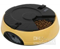 Wholesale New Meals LCD Display Digital Automatic Pet Feeders For Cat Dog Feeder Bowls Feeder
