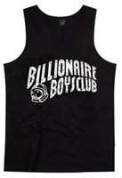 Cotton Men Sleeveless Billionaire Boys Club 100% Cotton Tank Top Hot Sale Streetwear Men Outside Sport Vest Fashion Underwear Mix Order Singlet