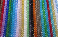 acrylic facet - 720PCS mm Mixed Color Clear Crystal Glass Loose Beads Round Facet Crystal Beads