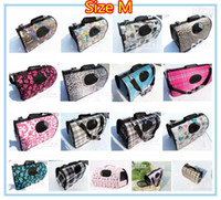 Wholesale Top Quality pet stroller hot sale Dog carrier bag collapsible pets bag colors for choose