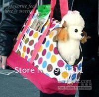 Wholesale Pet dog portable carrier knapsack shoulder bag backpack folded free gifts