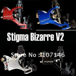 Wholesale Latest Style Stigma Bizarre V2 Rotary Tattoo Machine Gun Colors Assorted Tattoo Kits Supply