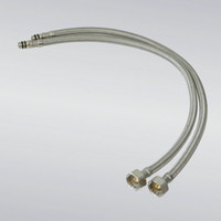 Wholesale Cheaper quot Stainless Steel Braided Faucet Water Supply Hoses FA