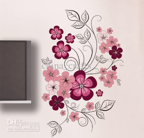 Large Flowers Wall Art For Living Room