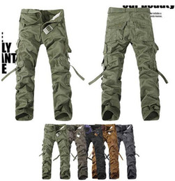 Wholesale NEW MALE CASUAL MILITARY ARMY CARGO CAMO COMBAT WORK PANTS TROUSERS