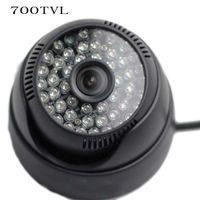Wholesale High Resolution TVL Color LED IR SONY Effio E ccd CCTV Security Indoor Dome Camera Surveillance DVR With OSD