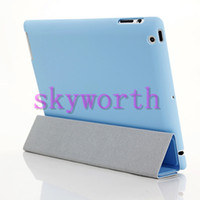 Wholesale ipad air2 Front Back Smart Cover Matte Back Case Full Body Protection for ipad air mini retina