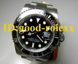 Mens Automatic Ceramic Bezel Watch Men Stainless Steel Bracelet Perpetual 116610 Sports Dive Luxury Watches Dive Wristwatch