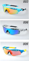 Wholesale Hight quality Sunglasses Good Quality Men s Cycling Sports Glasses Iridium Vented Lens Eyewear Fashion Sunglasses color Come With Boxes
