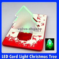 Wholesale LED Card Light Christmas Tree Christmas card light Green DK1387
