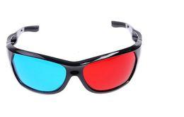 Wholesale Red Blue Plasma TV Movie Dimensional Anaglyph Framed D Vision Glasses