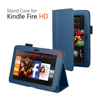 8'' kindle fire hd - PU Leather Case Cover Stand Folio Folding For Amazon Kindle Fire HD quot Inch Tablet PC