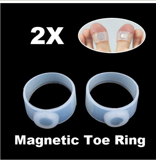 =New Magnetic Toe Rings Weight Loss Slimming Fat Health ...