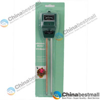 Wholesale 3 in Plant Flowers Soil Test Kits PH Tester Moisture Meter Light Illuminance Analyzer