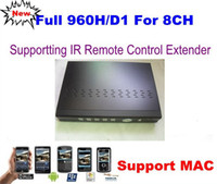 Wholesale HD Full D1 H CH H Real time Security CCTV Network DVR With HDMI Remote IR Extender MAC