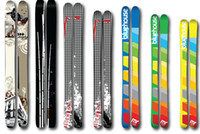 Wholesale Women s Nordica Nemesis Skis balck yellow color xiezhijia