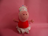 Wholesale peppa pig Ballerina Peppa doll soft toy height cm in large size