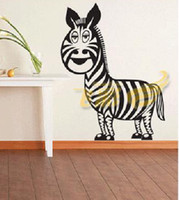 Wholesale Sweet Life Zebra cmX80cm Room Stiker DIY Wall Pictures Wallpaper all Decoration Stciekr d